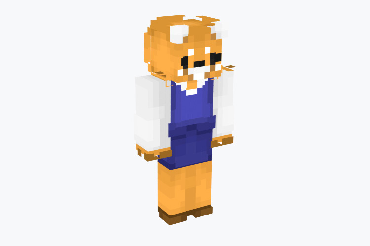 Retsuko Anime Character / Minecraft Skin