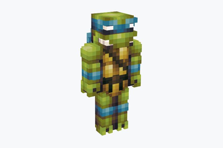 Leonardo from TMNT / Minecraft Skin