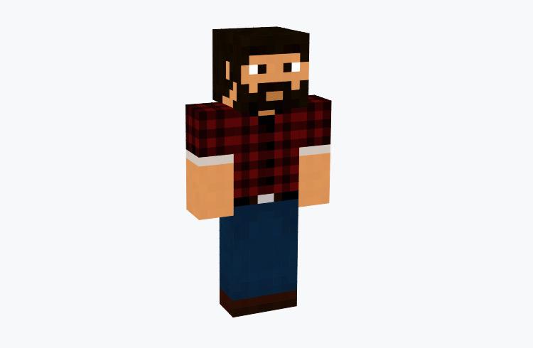 Classic Male Lumberjack / Minecraft Skin
