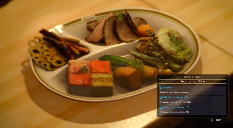Feast of the Divine / FFXV screenshot