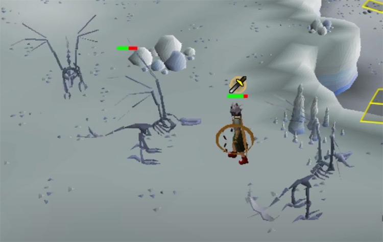 Skeletal Wyverns in OSRS screenshot
