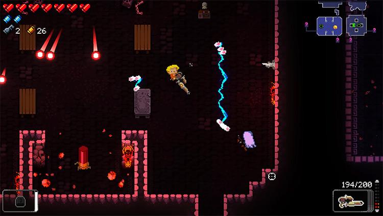 Enter the Gungeon Gunderfury gameplay screenshot