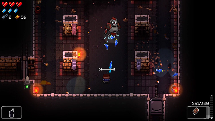 Enter the Gungeon Barrel weapon preview