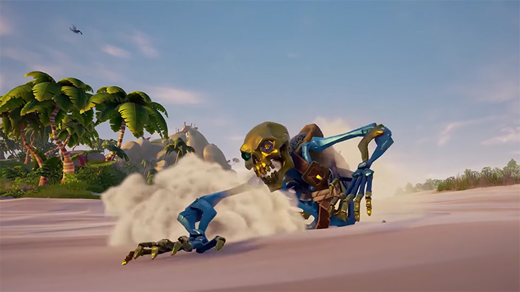 Sea of Thieves Ancient Skeleton