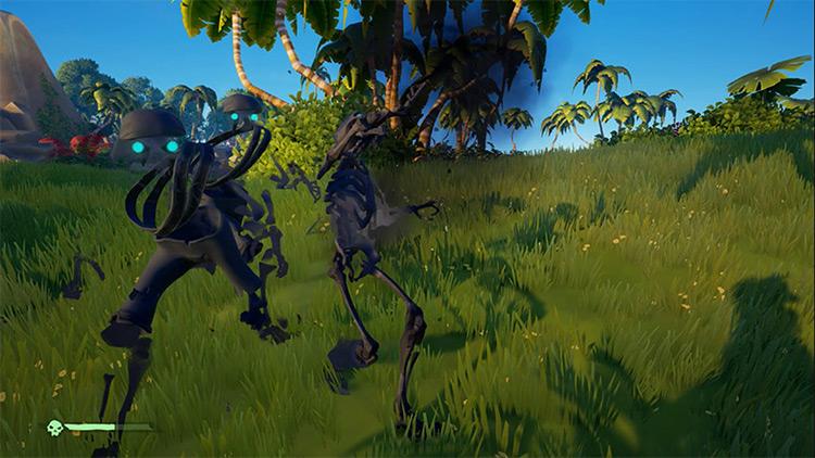 Sea of Thieves Shadow Skeleton