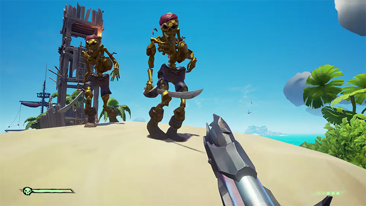 Sea of Thieves Gold Skeletons