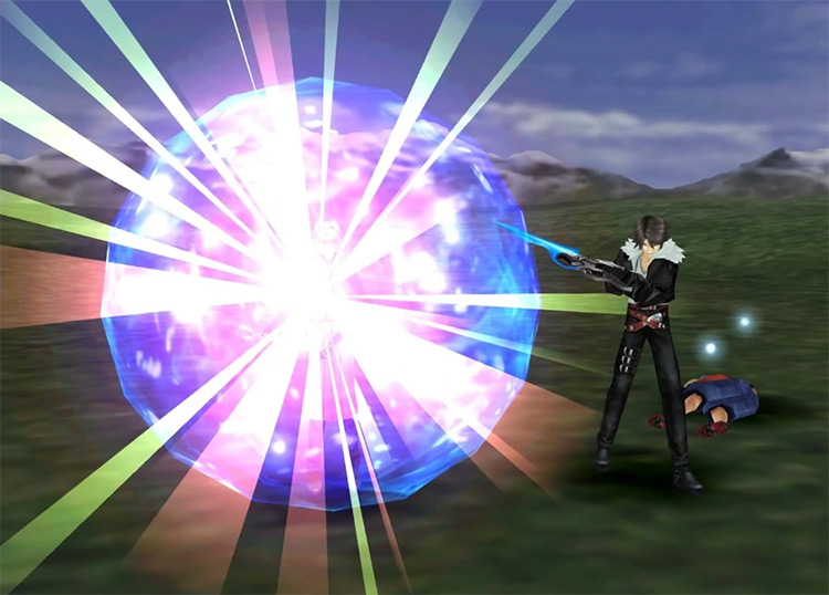 FF8 Remastered / Quistis Mighty Guard screenshot