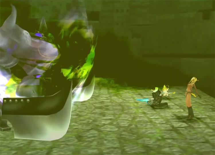 FF8 Remastered / Quistis Bad Breath screenshot
