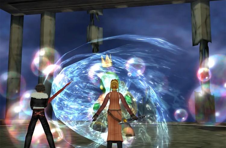 FF8 Remastered / Quistis Aqua Breath screenshot