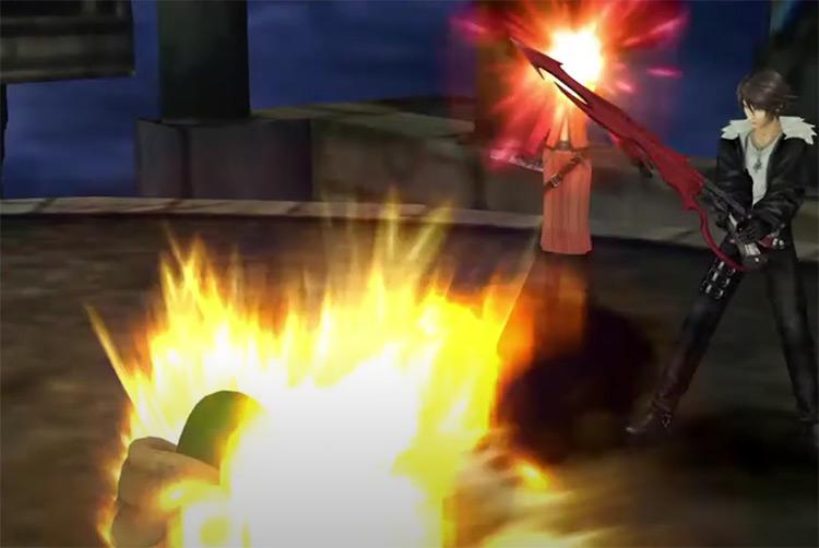 FF8 Remastered / Quistis Gatling Gun screenshot