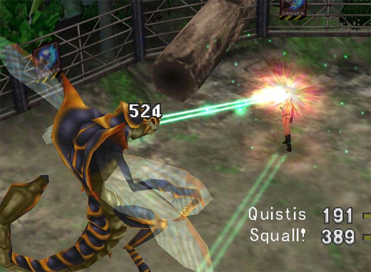 FF8 Quistis Laser Eye screenshot