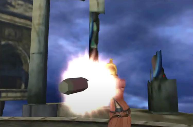 FF8 Micro Missiles Magic Attack screenshot