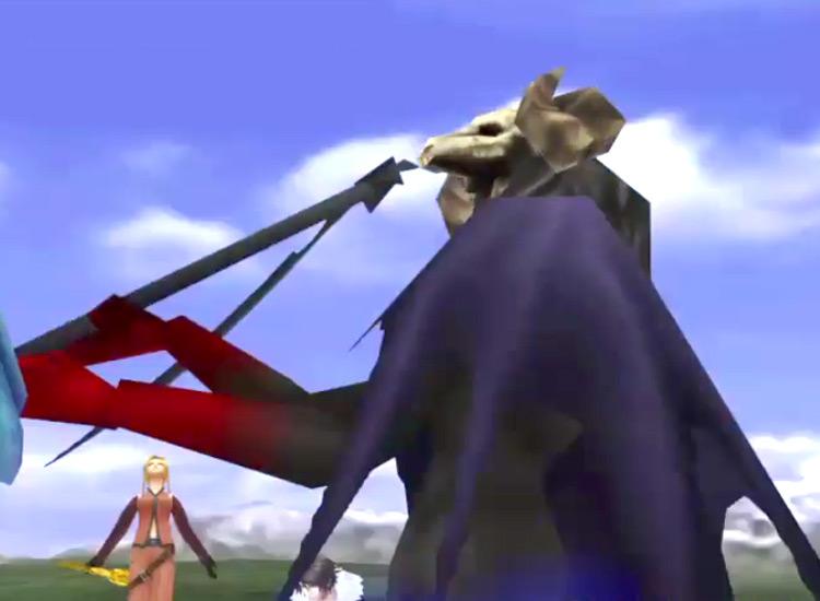 FF8 Remastered / LV?Death Magic screenshot