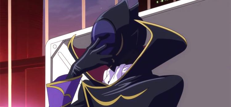Lelouch Identity as Zero / Code Geass