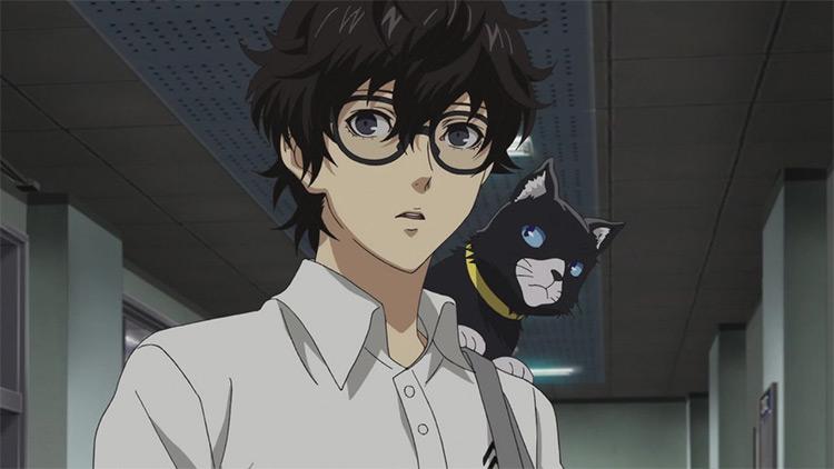 Ren Amamiya from Persona 5 anime