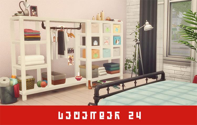 Closet CC Set / The Sims 4