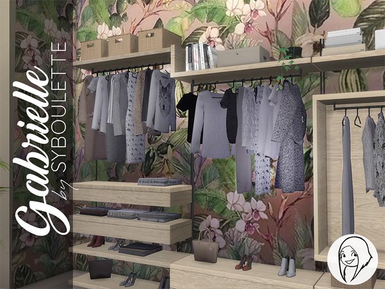 Gabrielle Closet TS4 CC