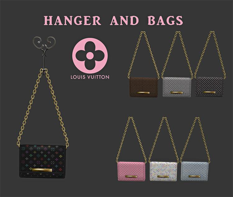 Hangers & Bags / Sims 4 CC