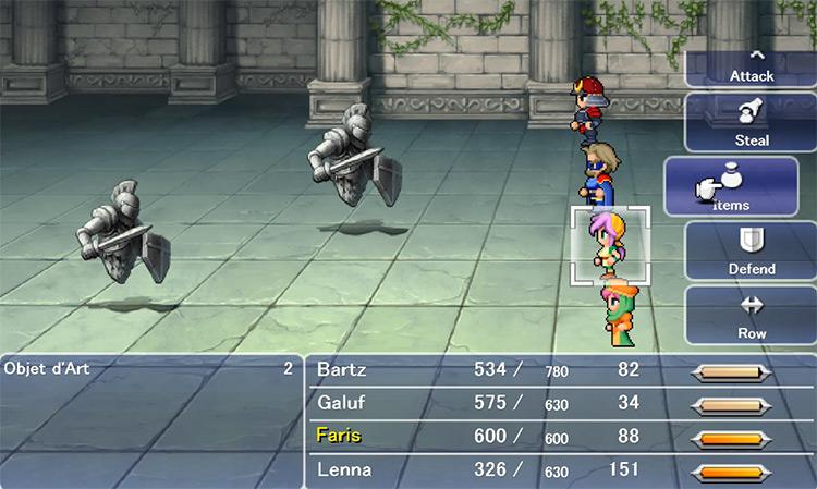 Objet d'Art in Final Fantasy 5