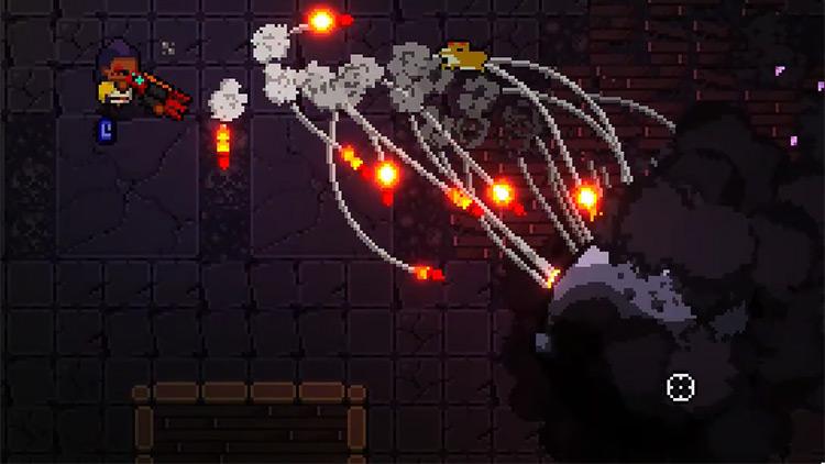 Enter the Gungeon Fightsabre + Yari Launcher gameplay screenshot