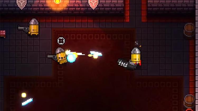 Enter the Gungeon Vulcan Cannon + Robot's Left Hand gameplay screenshot