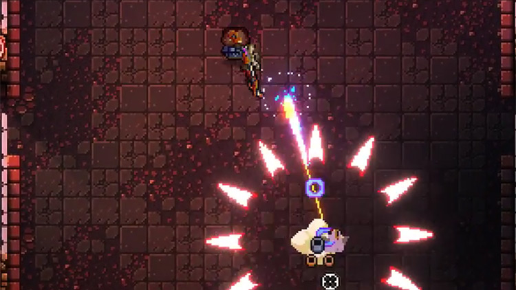 Enter the Gungeon Sniper Rifle + Hexagun gameplay screenshot