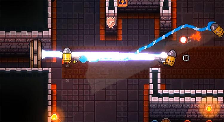 Enter the Gungeon Mega Douser + Moonscraper gameplay screenshot
