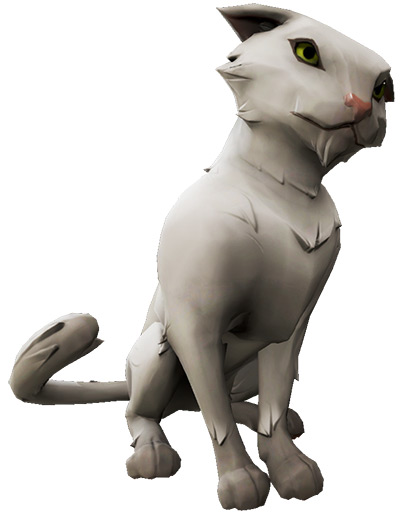 Alabaster Wildcat in Sea of Thieves