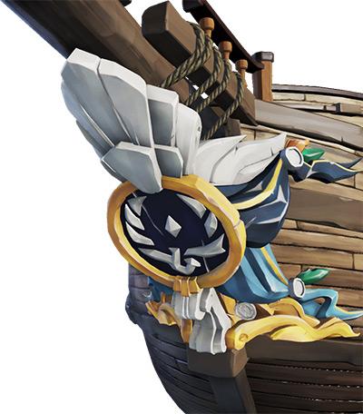 Sea of Thieves Triumphant Sea Dog Figurehead