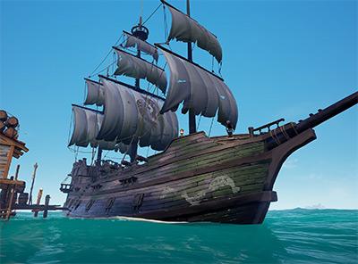 Sea of Thieves Silent Barnacle Ship Set