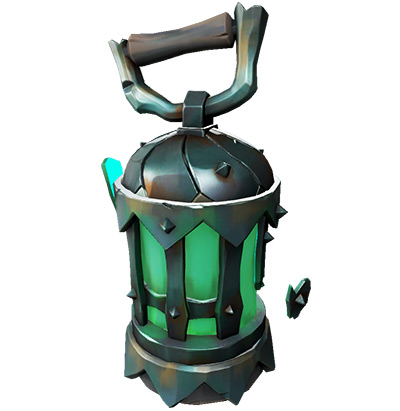 Ghost Lantern in Sea of Thieves