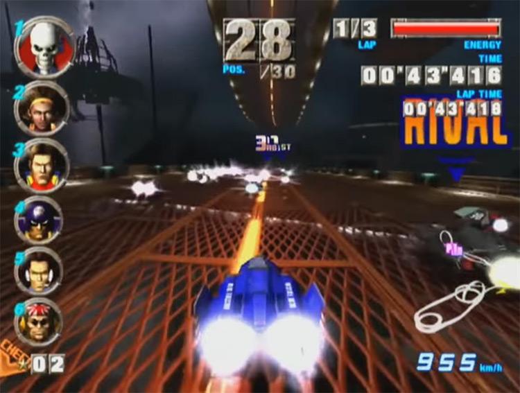 F-Zero GX GCN gameplay screenshot