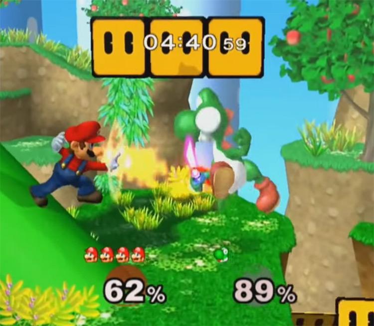Super Smash Bros. Melee GCN screenshot