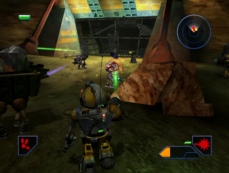 Metal Arms: Glitch in the System GCN screenshot
