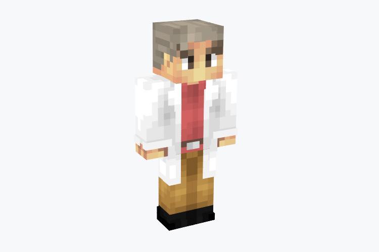 Professor Oak From Pokemon / Minecraft Skin