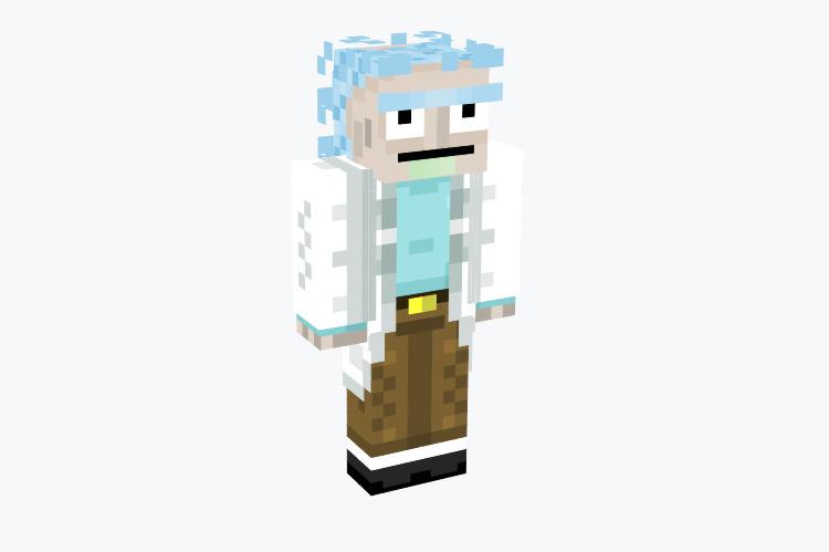 Rick Sanchez from Rick & Morty / Minecraft Skin