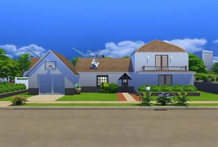 The Smith Residence Custom Lot for The Sims 4