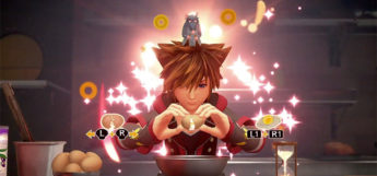 Sora and Little Chef Cooking in KH3