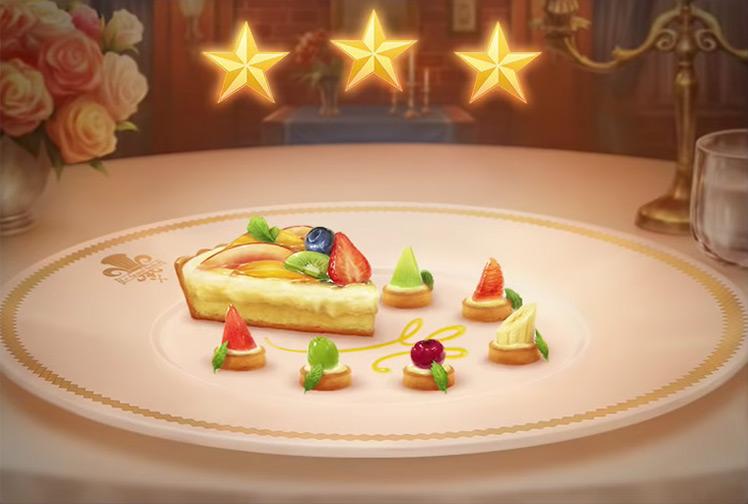 Kingdom Hearts 3 Tarte aux Fruits Dish