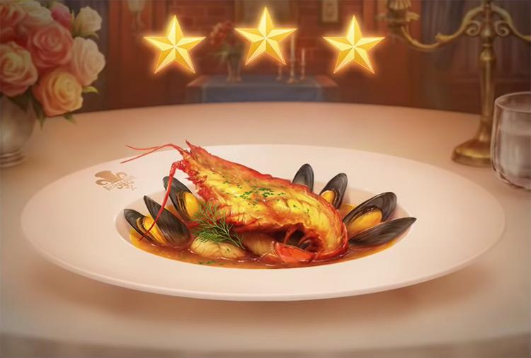 Kingdom Hearts 3 Bouillabaisse Dish