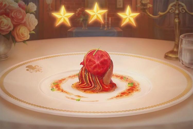 Kingdom Hearts 3 Ratatouille Dish