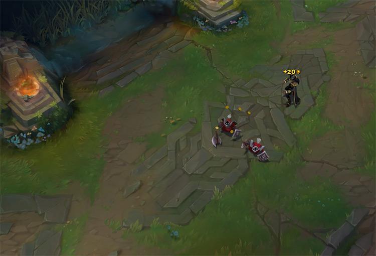 Twisted Fate LoL gameplay screenshot