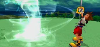 Tornado Sleight in Kingdom Hearts Re: Chain of Memories