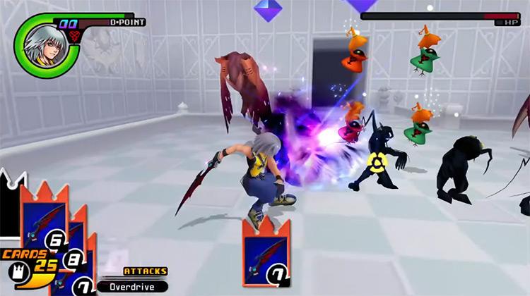 Riku Grind in Castle Oblivion / KH Re:CoM