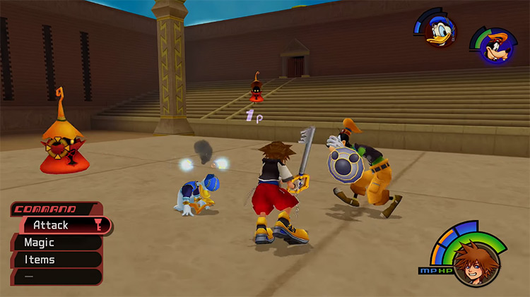 Early Coliseum Match / KH1.5 Grinding