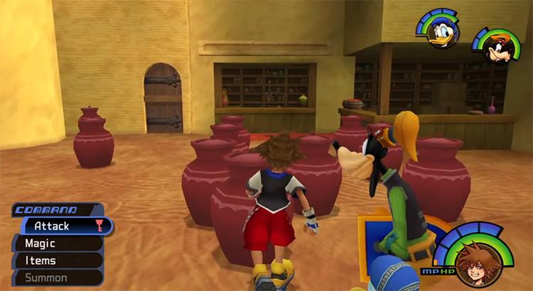 Pot Scorpion Puzzle in Agrabah / KH1.5 screenshot
