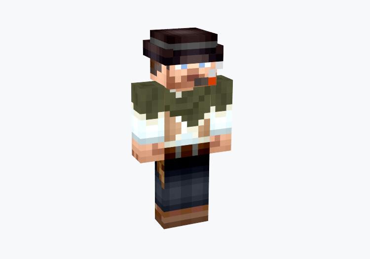 Clint Eastwood / Minecraft Skin