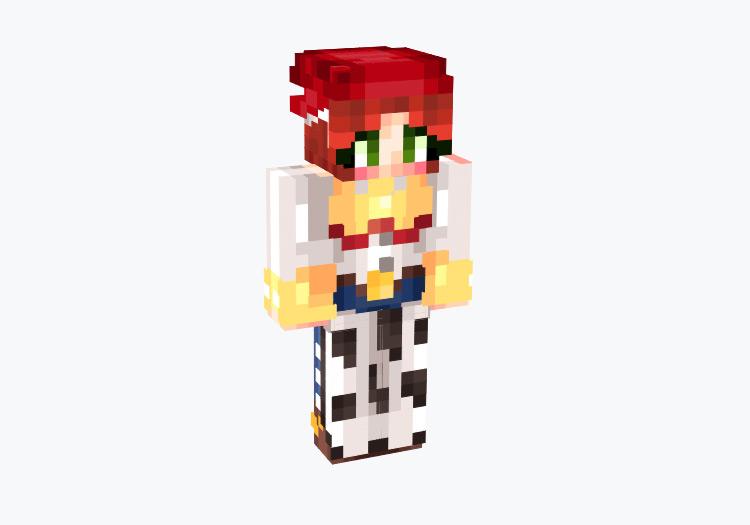 Jessie Cowgirl from Toy Story 2 / Minecraft Skin