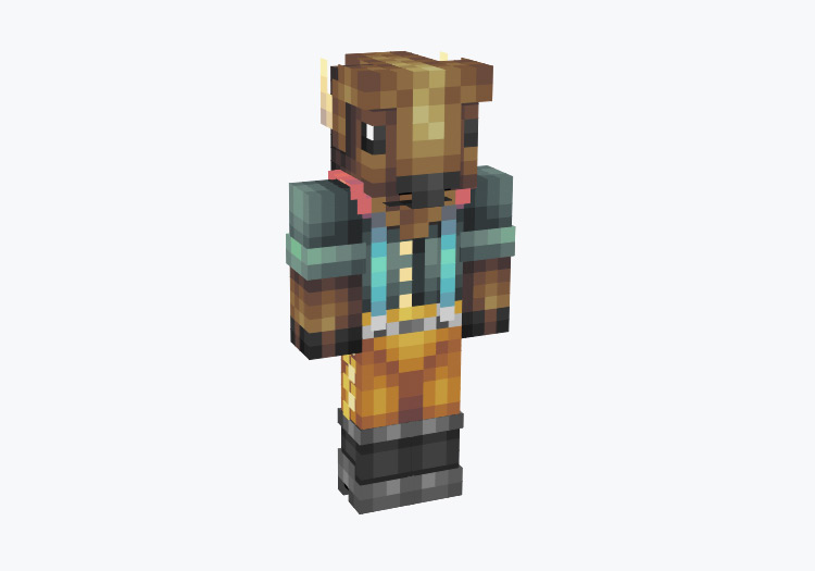 Buffalo Bill Character / Minecraft Skin