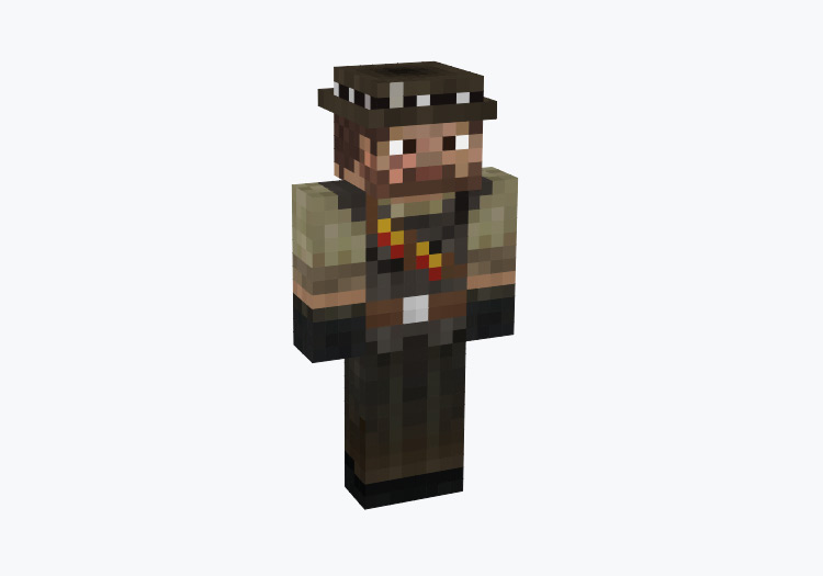 John Marston from Red Dead Redemption / Minecraft Skin